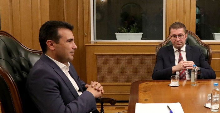 Можна лидерска средба Мицкоски- Заев