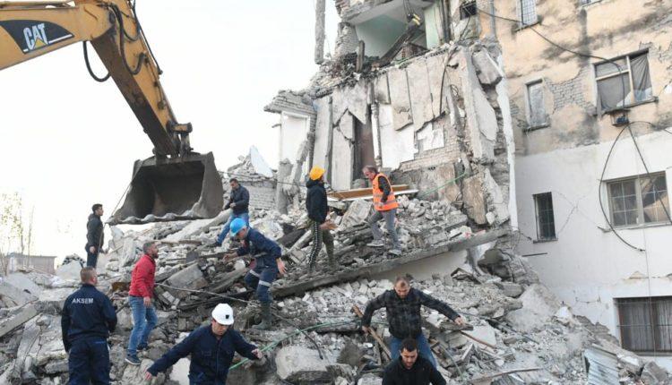 Ова е проценката на штетата во Албанија: 1.183 урнати објекти, 558 станбени згради со големи оштетувања