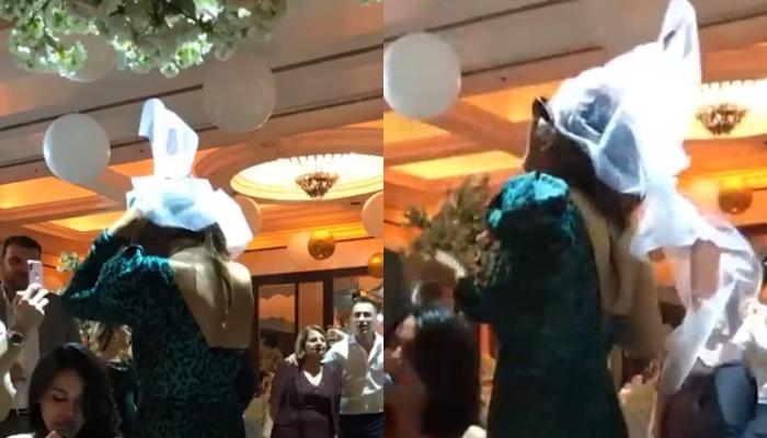 Фановите стравуваат дека им се вратила на пороците: Пејачката на свадбата на Вељко направи вистинска хаос, а откако запеа се посрамоти