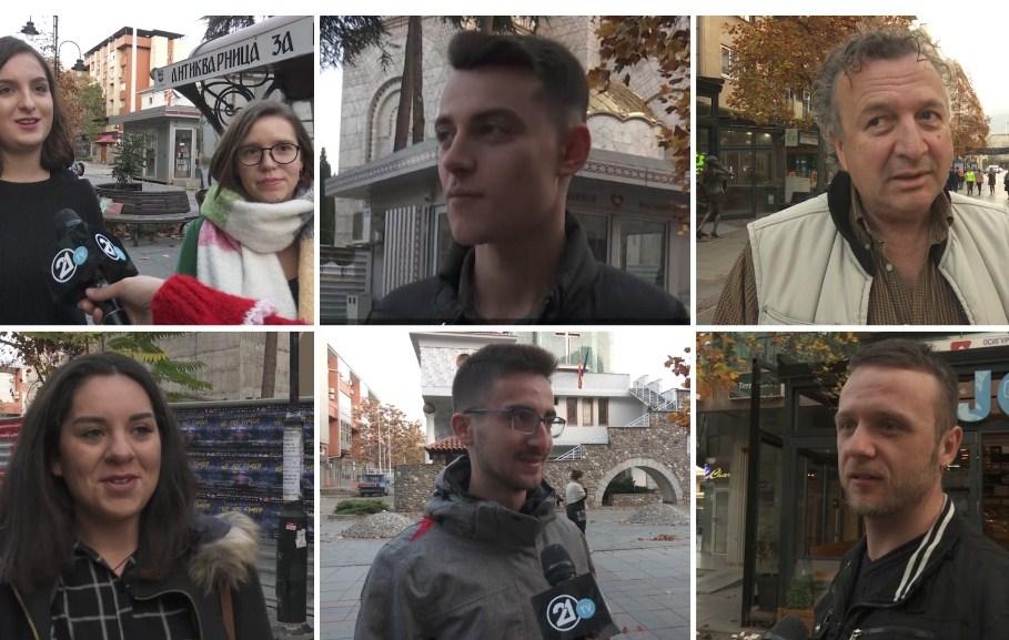 Анкета на ТВ21: Граѓаните на иста линија со претседателот и тие би се иселиле од Македонија