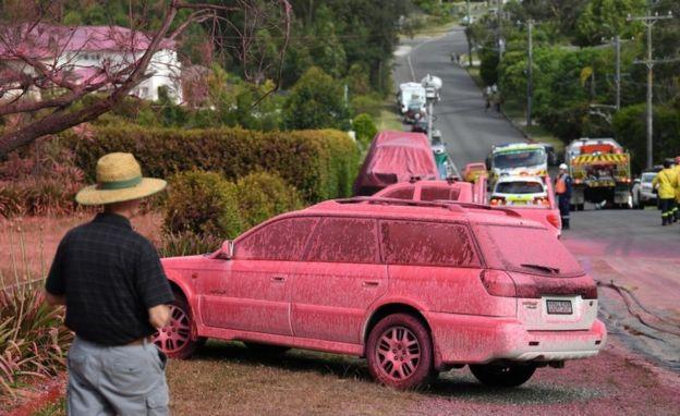 Итна евакуација на неколку области во Австралија