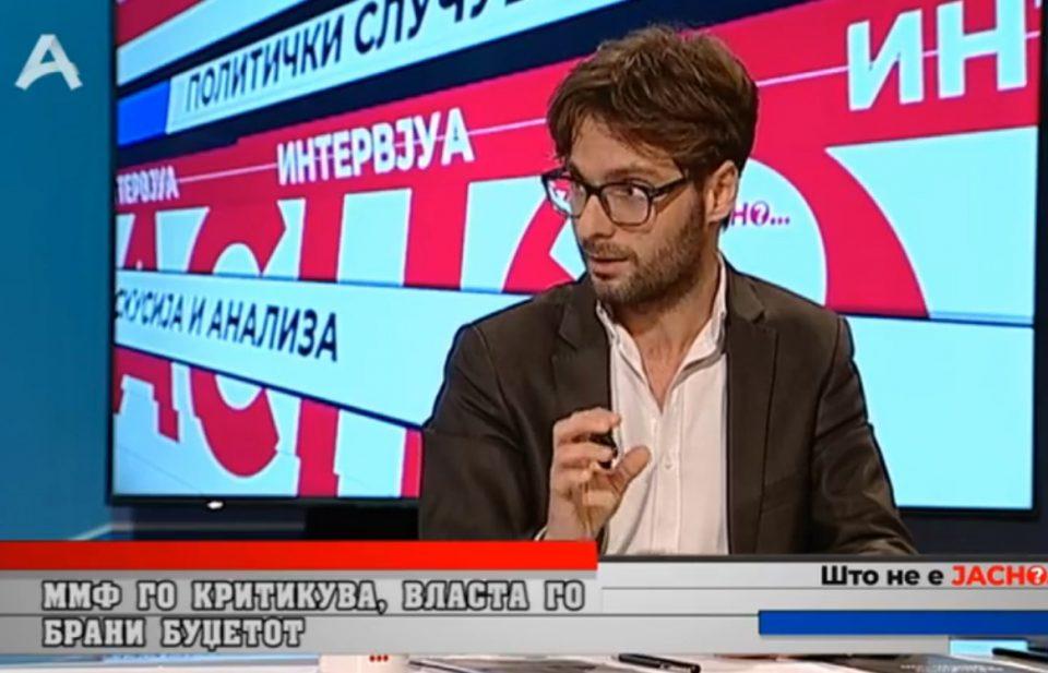 Јовановиќ:  Новата министерка за финансии е без искуство и експертиза од областа