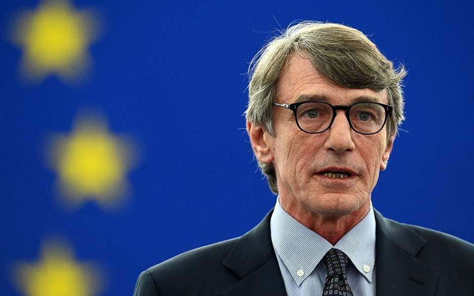 Претседателот на Европскиот парламент во самоизолација, патувал во Италија