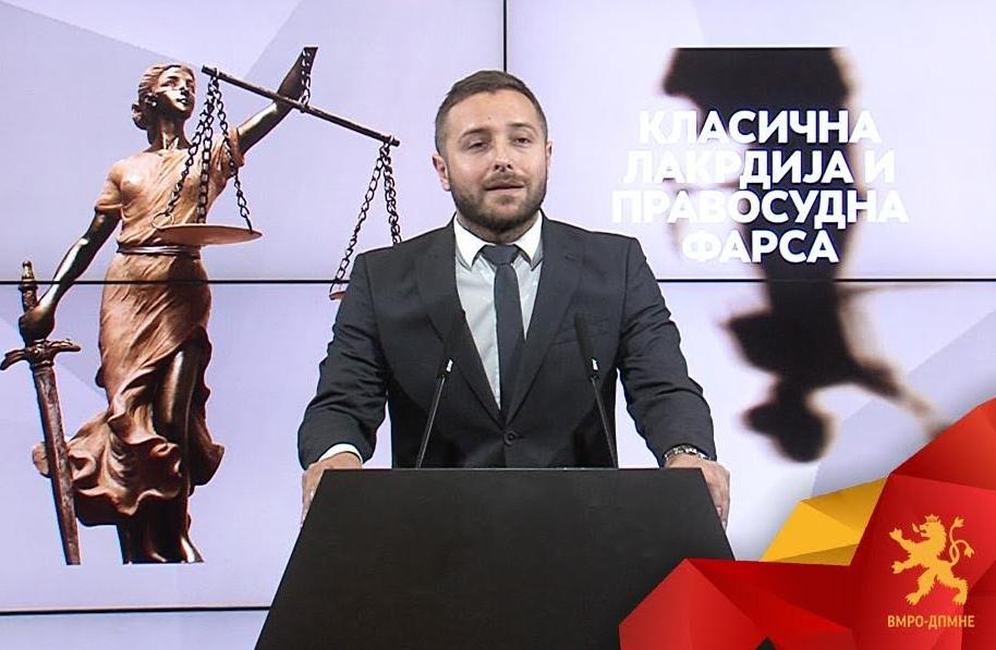 Арсовски: Заев го руинираше правниот систем преку уцени, закани и поткупувања вршат влијание врз правосудниот систем