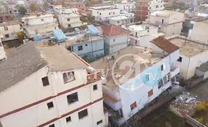 ТВ21 ДРОН: Еве како изгледа Драч 24 часа по разорниот земјотрес