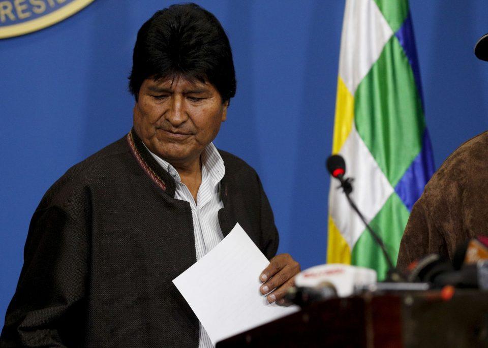 Привремената претседателка на Боливија Жанин Анес го одби барањето за амнестија на Ево Моралес