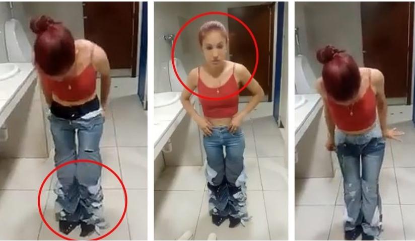 Ја фатија дека краде, па ја натераа да се соблече: Не можеа да веруваат што гледаат (ВИДЕО)