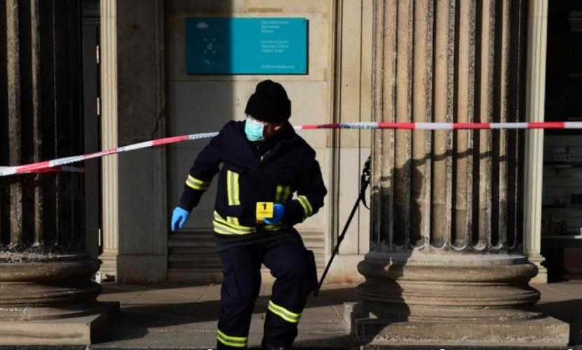 Грабеж на векот: Објавени детали и снимка од грабежот во Дрезден
