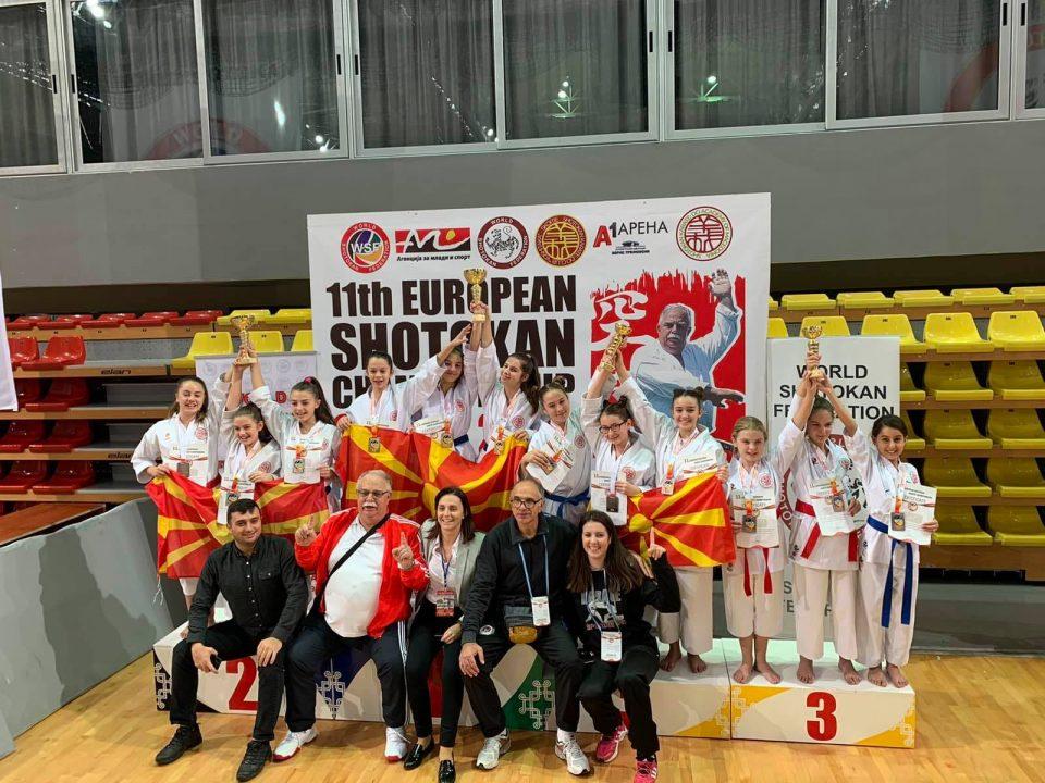 Втор ден од Европското карате шотокан првенство во Скопје (ФОТО)
