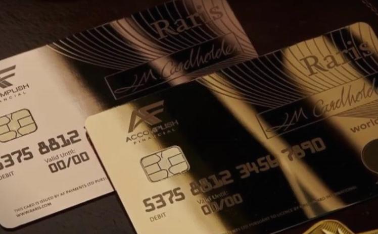 Ова е најскапата кредитна картичка во светот, изработена од 18-каратно злато