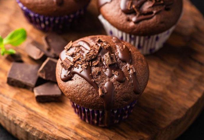 Десерт без глутен: Мафини со чоколадо
