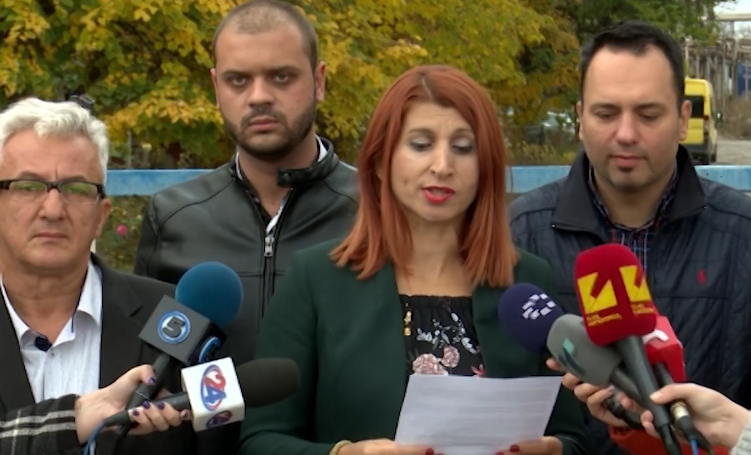 Костадинова: Заев е најодговорен за еколошката катастрофа која што вчера му се случи на Скопје