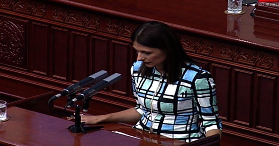 Манаскова: СДСМ ги користи социјалните групи за прикривање на неспособноста за вложување во капитални проекти