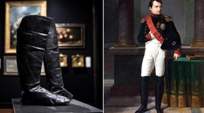 Чизми на Наполеон Бонапарта продадени за 117.000 евра