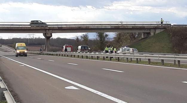 Страшна сообраќајка кај Ниш: Четири лица загинаа, шестмина се повредени