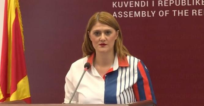 Стаменковска: Собраниските служби по партиски наредби не доставуваат архивирани амандмани