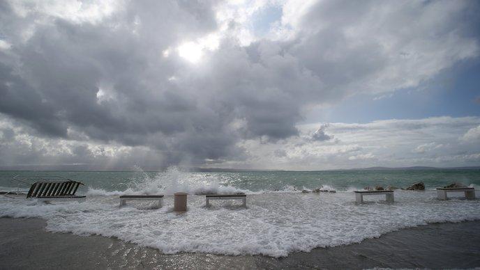Црвен метеоаларм во Хрватска