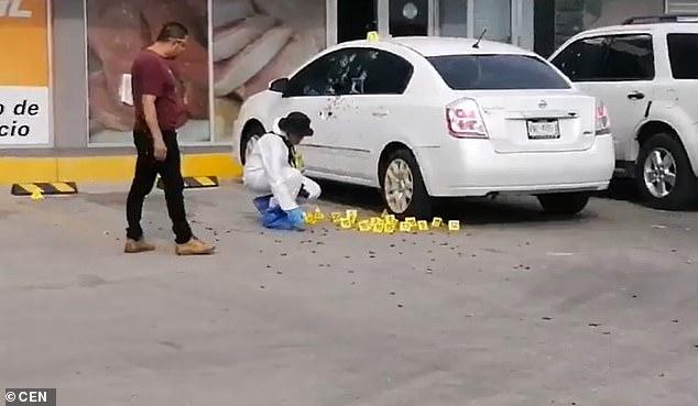 ФОТО: Со 150 куршуми изрешетан полицаец кој учествувал во апсењето на синот на Ел Чапо