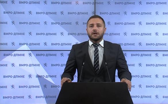 Арсовски: Додека здравствените работници немаат заштитна опрема, функционерите на СДСМ потрошиле 8 милиони за репрезентација за 4 дена