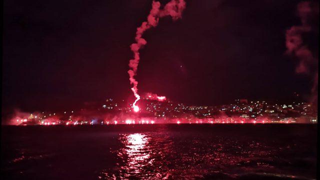 ФОТО+ВИДЕО: Охрид во пламен
