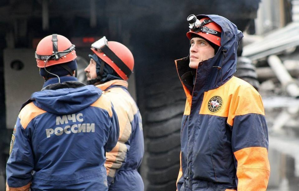 Двајца рудари исчезнати во пожар во Русија