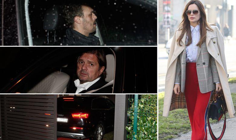 ФОТО: Скршена од болка, Северина му го предаде синот на Милан