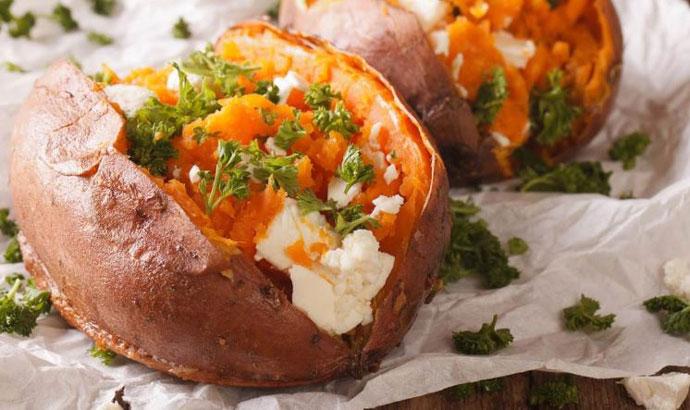 Идеја за ручек: Полнет сладок компир
