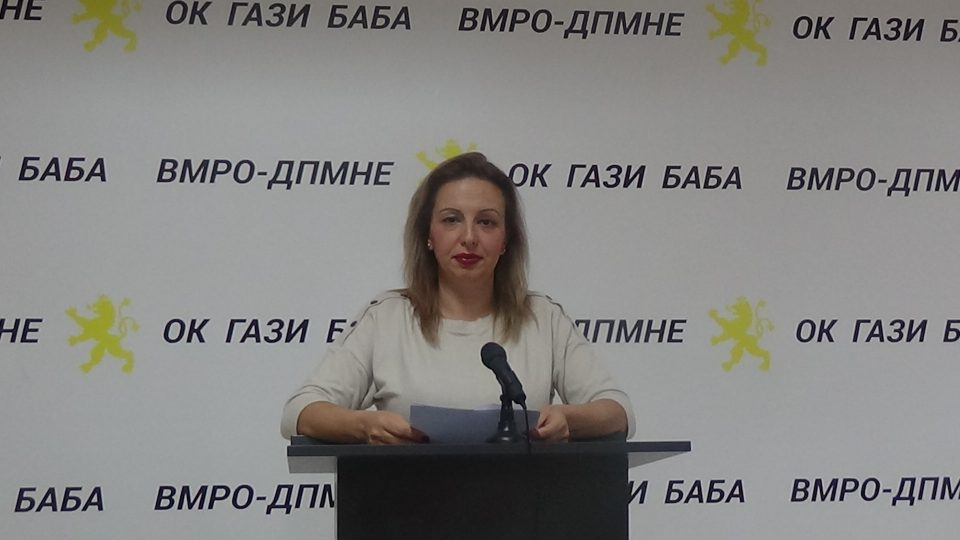 Пешевска: Во Гази Баба се појавија шокантни податоци за загаденоста, а власта излажа дека мерната станица не била исправна