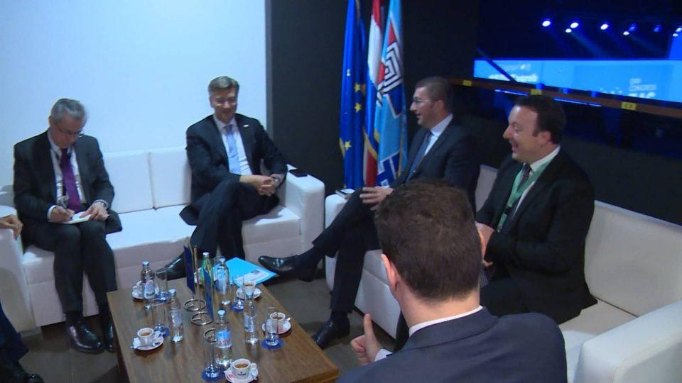Николоски: ВМРО-ДПМНЕ Утре ќе оствари средби со Хан, Курц, Јанша, Борисов и двете сестрински партии од Финска и Шведска