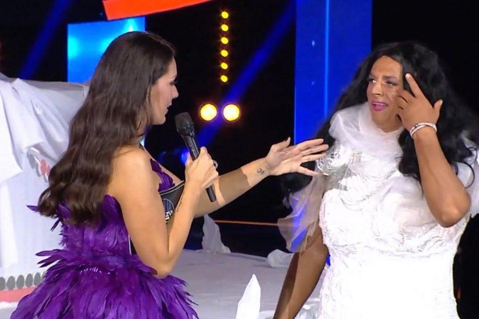 """Даниел Кајмакоски направи вистинско шоу во ТЛЗП – """"тверкаше"""" со задникот облечен како жена"""