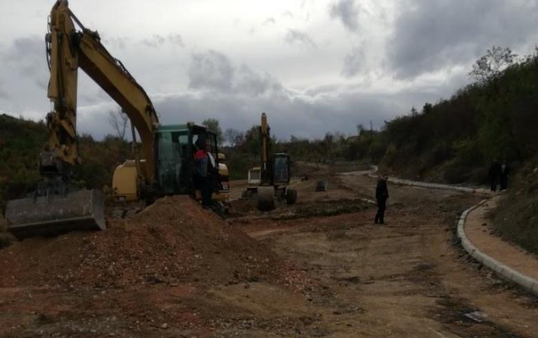 Патот кој води кон Теферич 30 дена ќе биде затворен за сообраќај