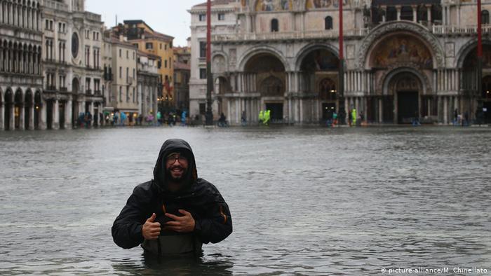 Во поплавите во Венеција оштетена стара византиска базилика