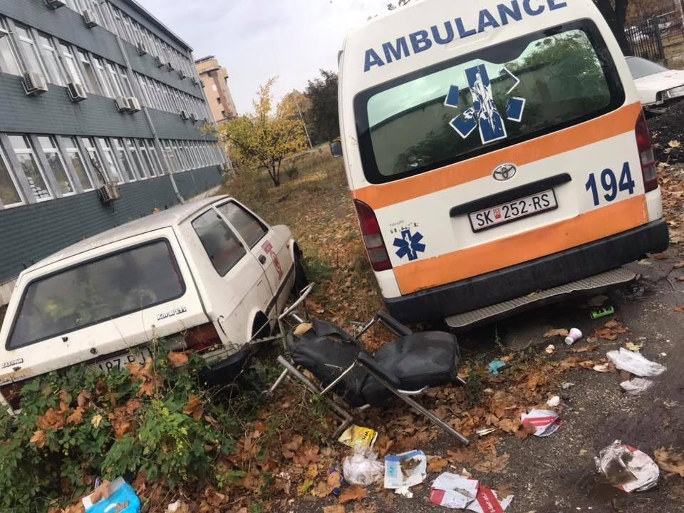 """""""Возниот парк на Итната медицинска помош скапува среде Скопје"""""""