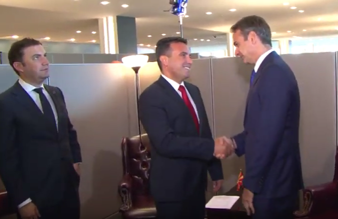 """Заев: Самостојното истакнување на """"Macedonia the GReat"""" од Мицотакис не е против Преспанскиот договор"""