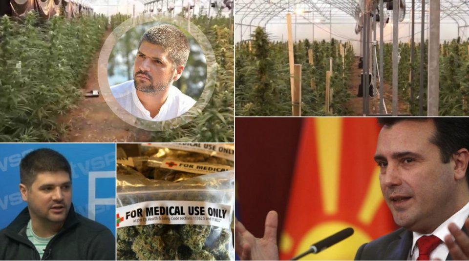 Бизнис партнерот на Заеви под сомнение за црна продажба на марихуана: Што најде полицијата кај него?
