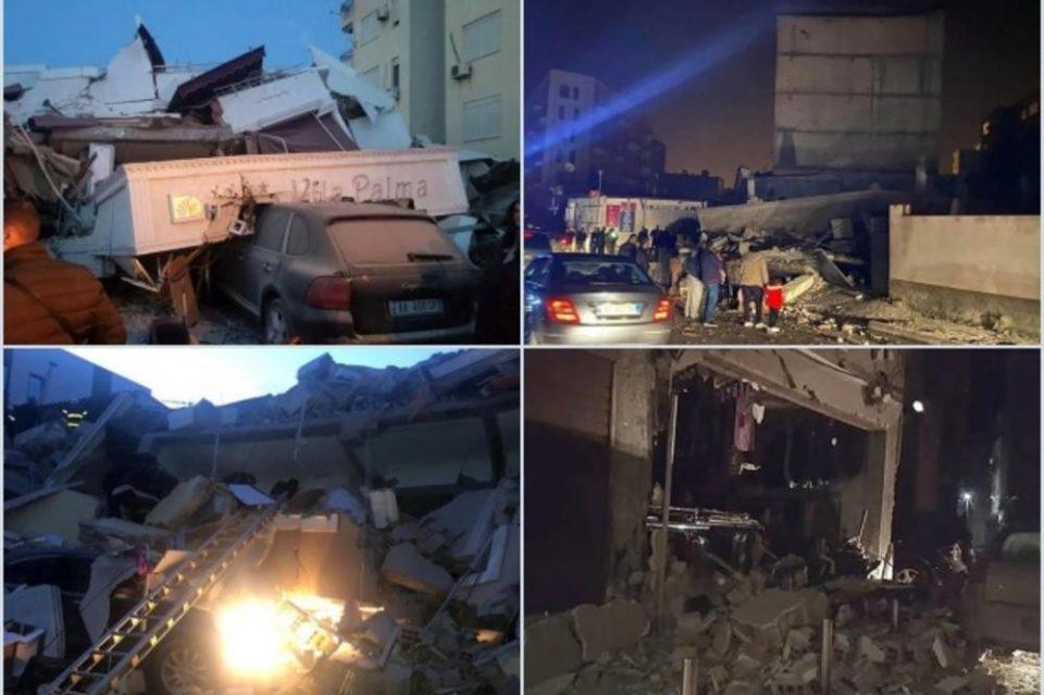 АЛБАНИЈА УШТЕ СЕ ТРЕСЕ: Нов земјотрес, почувствуван до Црна Гора