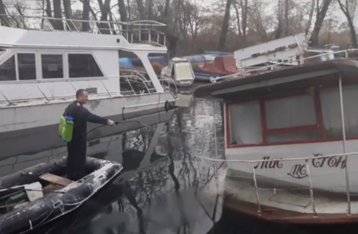 УЖАС: Потона брод, горивото се излеа во Охридското Езеро!