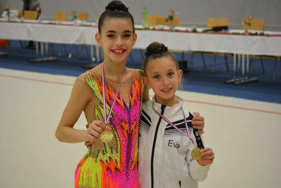 Илина Соколовска го освои првото место во ритмичка гимнастика на OWL куп во Билефилд