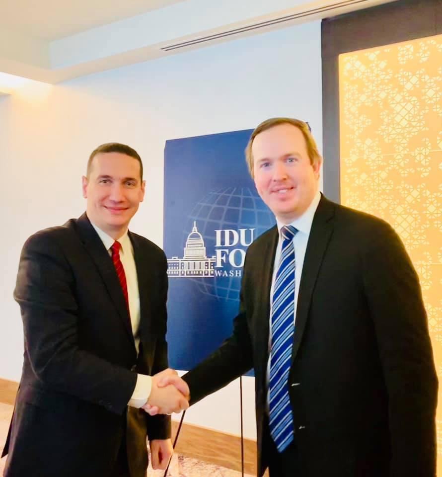 Ѓорчев се сретна со Брајан Џек, политички директор на Белата куќа на претседателот на САД Доналд Трамп