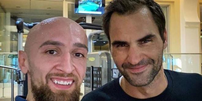 ФОТО: Дибиров и Федерер на одмор во Дубаи