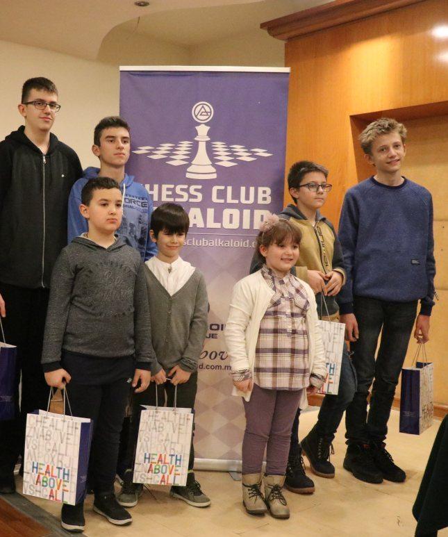Меѓународен турнир во забрзан шах АЛКАЛОИД 2019