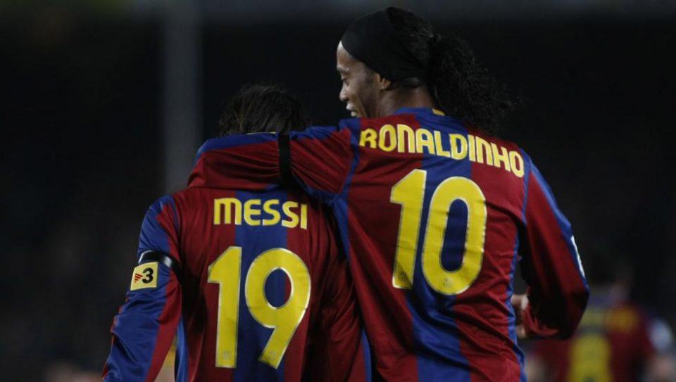 За Роналдињо, Меси не е најдобар во историјата