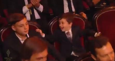 ВИДЕО: Помалиот син на Меси го украде шоуто