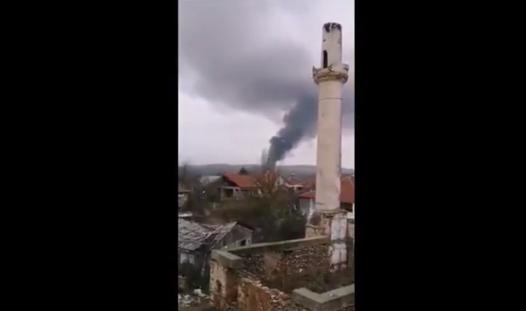 Гори депонијата во Струмица, надлежните ги нема (ВИДЕО)