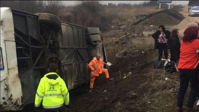 Министерство за здравство се огласи по автобуската несреќа