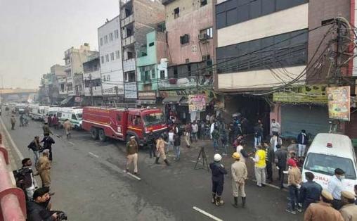 Пожар во фабрика во Њу Делхи, 43 жртви