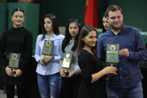 Стоилов и Радичевска спортисти на Град Скопје за 2019 година