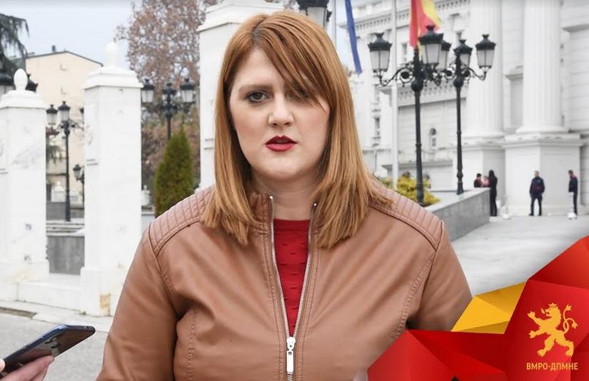 Стаменковска: Заев ја злоупотребува администрацијата- власта не работи ништо