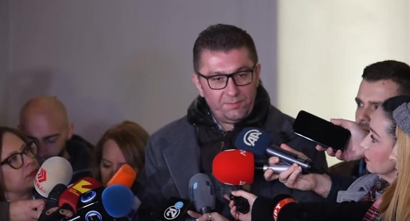 Мицкоски: ВМРО-ДПМНЕ за технички министер за внатрешни работи предлага нов човек во политиката и врвен професионалец
