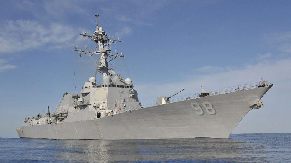 Три американски разурнувачки бродови впловија во Беренцово море